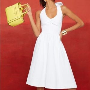Kate Spade Bow Halter Dress with pockets!